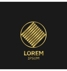 Golden Logo vector