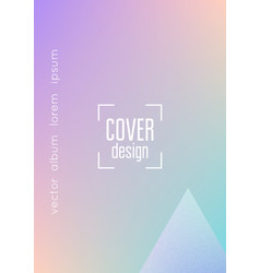 Holographic cover with triangle fluid vector