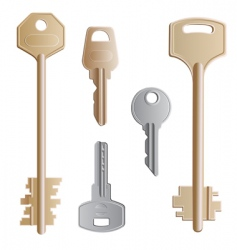 Keys set vector
