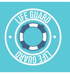 Life guard vector image