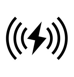 wireless charger vector image