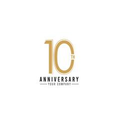 Year anniversary celebration template design vector