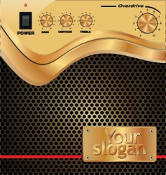 music background vector image vector image