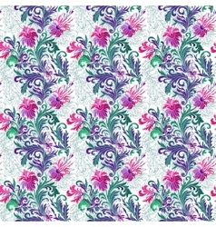 seamless pattern with vector image vector image