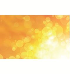 abstract yellow circles design vector image