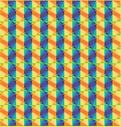 chromatic triangle texture vector image