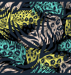 Leo zebra animal print vector