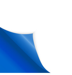 pattern of bent corner for free filling of blue vector image
