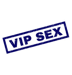 Rectangle grunge vip sex stamp vector