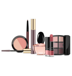 Rosewood makeup collection vector