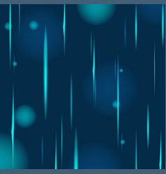 abstract blue rain glow background vector image