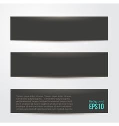 pure black background for your design vector image