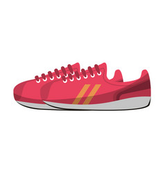 sport shoes icon vector image vector image