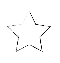 figure rating star symbol and element status vector image vector image