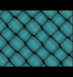 african wax print fabric weaved fiber decorative vector image