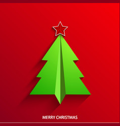concept christmas tree vector image