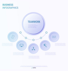 Creative infographics elements eps10business ideas vector