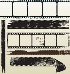 film grunge vector image