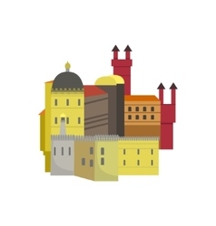 Old Town Architecture Portuguese Famous Symbol vector image