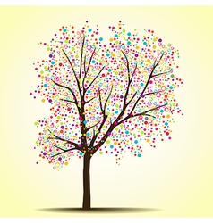 Spring summer tree vector image