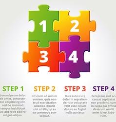 ThreePuzzle vector image