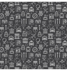 Travel dark pattern vector