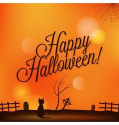 holiday halloween vector image vector image