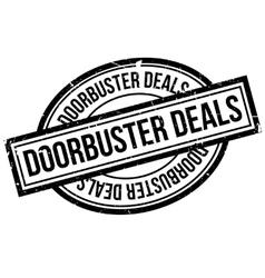 Doorbuster Deals rubber stamp vector