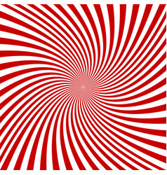 red and white spiral design background vector image