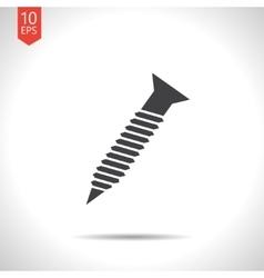 screw icon Eps10 vector image