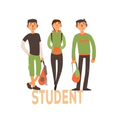 Student People Set 2 vector