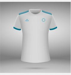 T-shirt soccer jersey vector