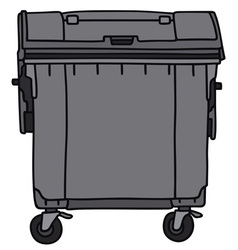 Waste container vector image
