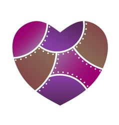 Lingerie Heart vector image