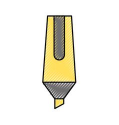 Pencil writing instrument vector