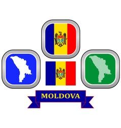 symbol of Moldova vector image vector image