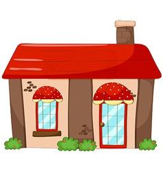 Single house vector image