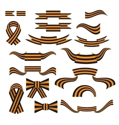 St George ribbon color web icon vector image vector image