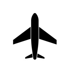 airplanes icon plane icon passenger airplane vector image