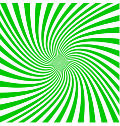 Green and white spiral design background vector