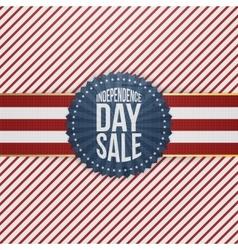 Independence Day Sale modern graphic Emblem vector image
