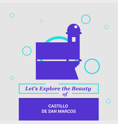 Lets explore the beauty of castillo de san marcos vector