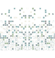 Seamless mosaic with squares vector