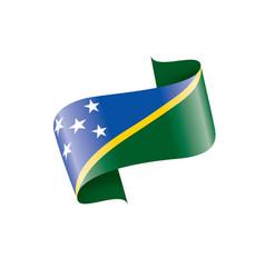 solomon islands flag vector image
