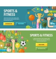 Sport logo design template fitness or vector