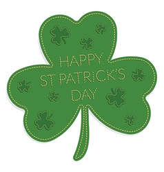 St patricks day ornament vector