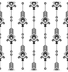 Bohemian seamless pattern vector image vector image