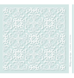 laser cut decorative panel damask for printing vector image