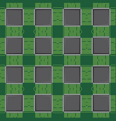 Background pattern with computer microchip vector