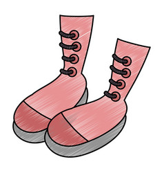 Boots icon image vector